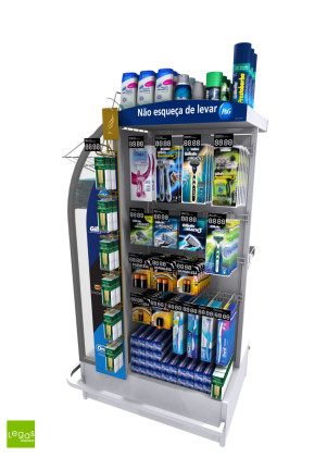 CHECKSTAND-CHECKOUT-MERCADO-METAL-PEG-PROCTER-GAMBLE-LEGAS-DISPLAY-LEGASDISPLAYS
