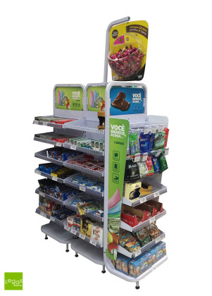 CHECKSTAND-CHECKOUT-MONDELEZ-METAL-EXPOSITOR-CAIXA-LEGAS-DISPLAY